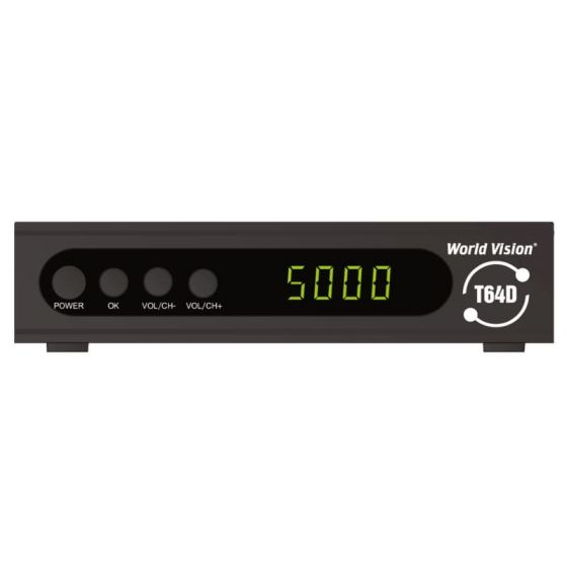 DVB-T2 ресивер World Vision T64D