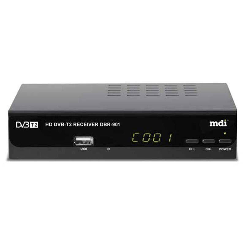 DVB-T2 ресивер  DVB-T2 MDI DBR-901