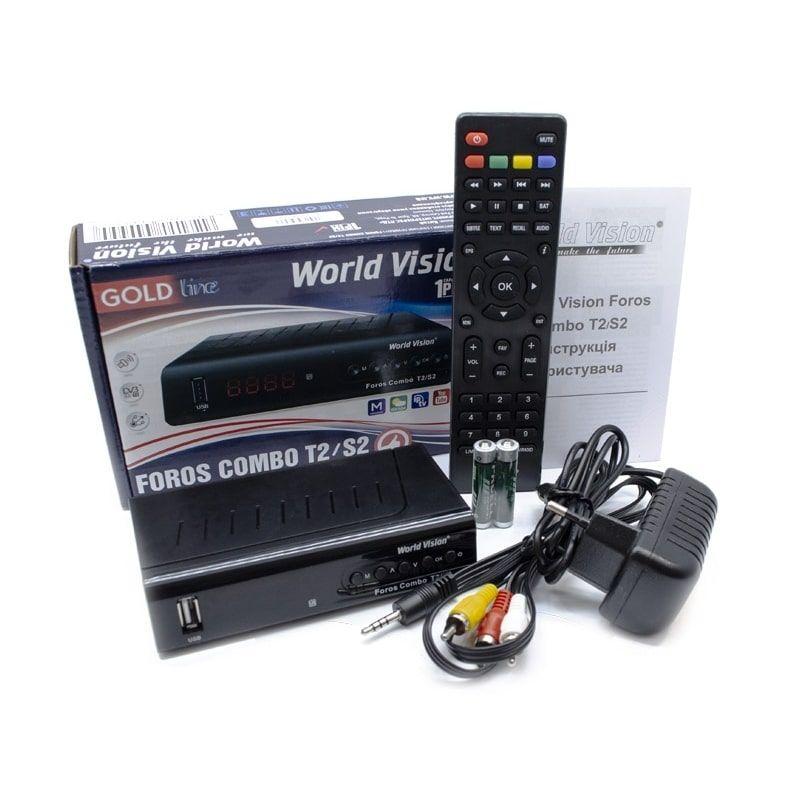 Ресивер World Vision Foros Combo T2/S2