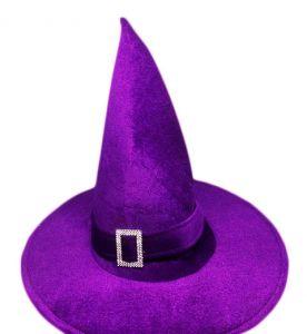 Колпак Ведьмы велюровый