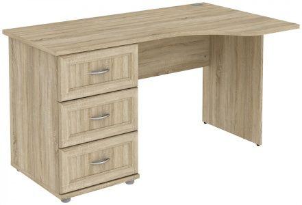 Стол угловой с 3-мя ящиками (модуль Г776.01)