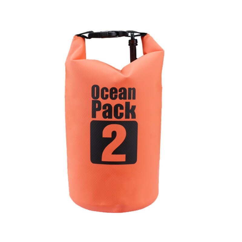 Водонепроницаемая сумка-мешок Ocean Pack, 2 L, цвет оранжевый