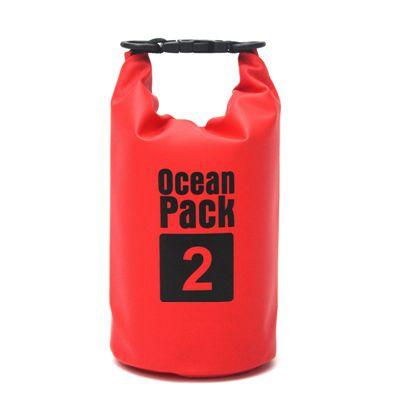 Водонепроницаемая Сумка-Мешок Ocean Pack, 2 L, Цвет Красный