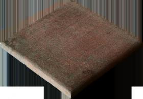 Ступень угловая Natucer Ferro di Boston Rosso 33×33
