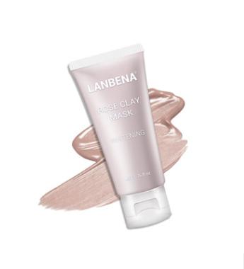 Lanbena -  Отбеливающая маска для лица с экстрактом розы.(4258)