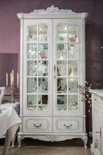 Шкаф БАРОККО для посуды 2-дверный эмаль