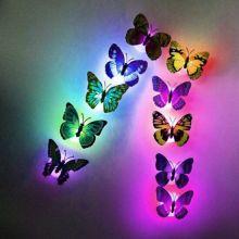 Светящаяся бабочка, 5 шт