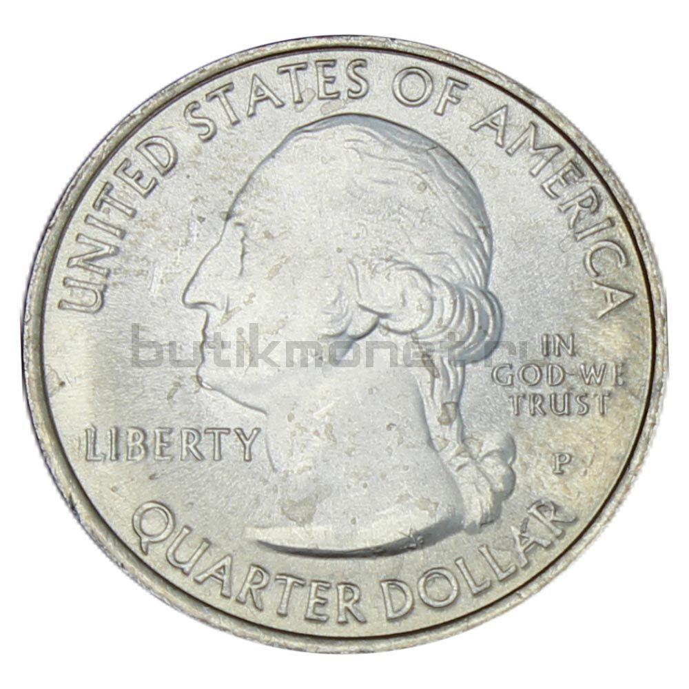 25 центов 2012 США Национальный исторический парк Чако P