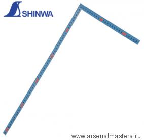 Угольник плоский фигурный профиль 500х250мм Shinwa 10014 М00015759