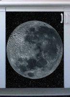 Наклейка на посудомоечную машину и кухню -  Moon