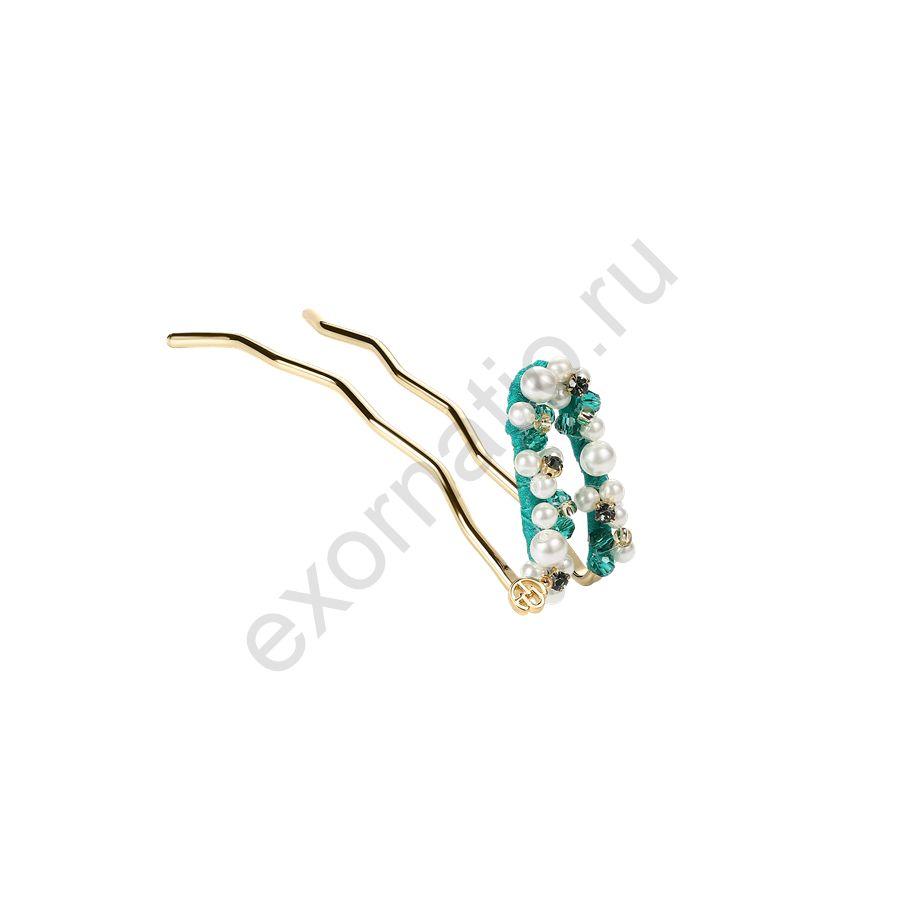 Шпилька Evita Peroni 41235-882. Коллекция ANCIENT ELEGANCE Turquoise