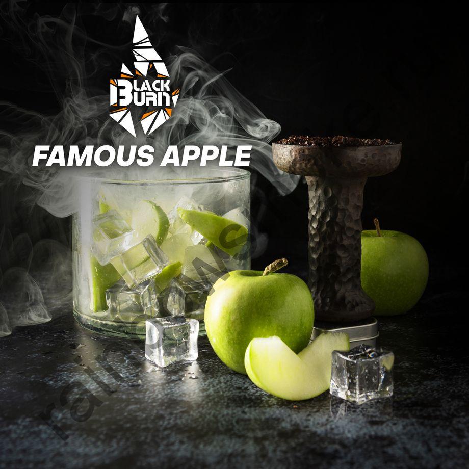 Black Burn 100 гр - Famous Apple (Знаменитое Яблоко)