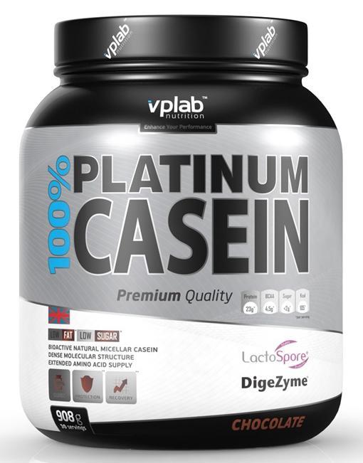 100% Platinum Casein VPLab Nutrition (908 гр)