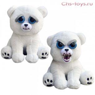 Игрушка Feisty Pets Белый медведь