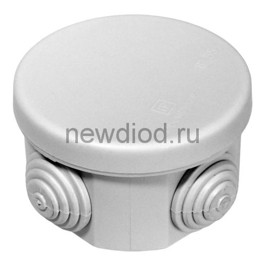 Коробка распределительная 40-0100 для о/п безгалогенная (HF) 65х40 (200шт/кор)