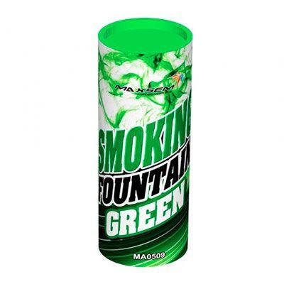 Цветной Дым SMOKING FOUNTAIN зеленый