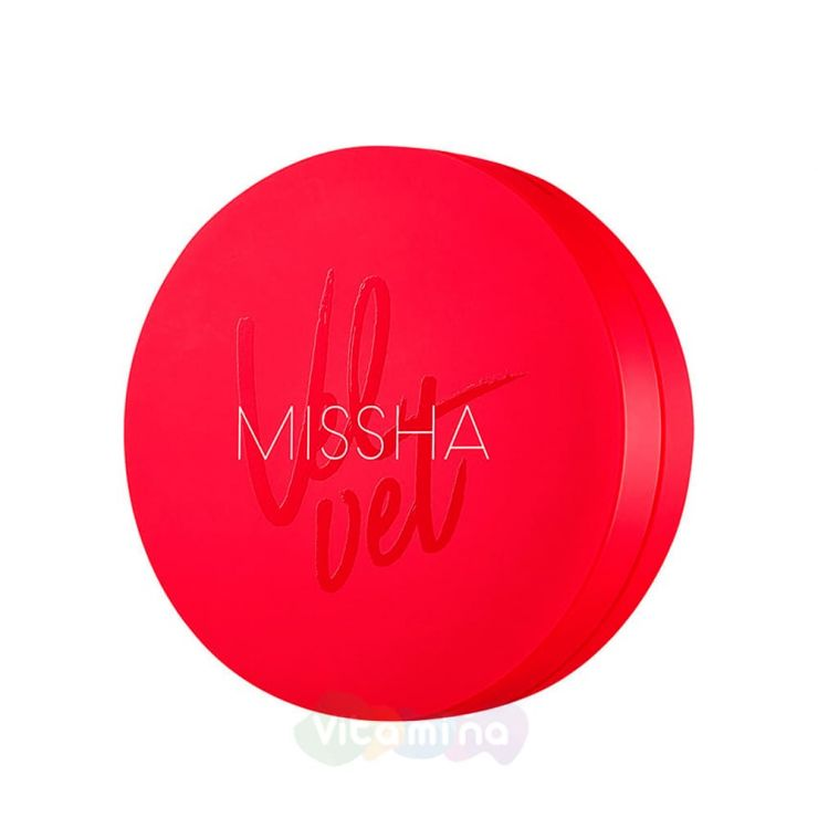 Missha Тональный кушон с матовым финишем Velvet Finish Cushion SPF50+ PA+++, 15 гр