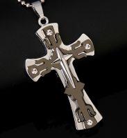 Нательный крест HT-2215B