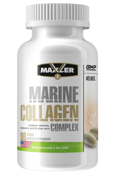 Marine Collagen Complex Maxler (90 кап)_
