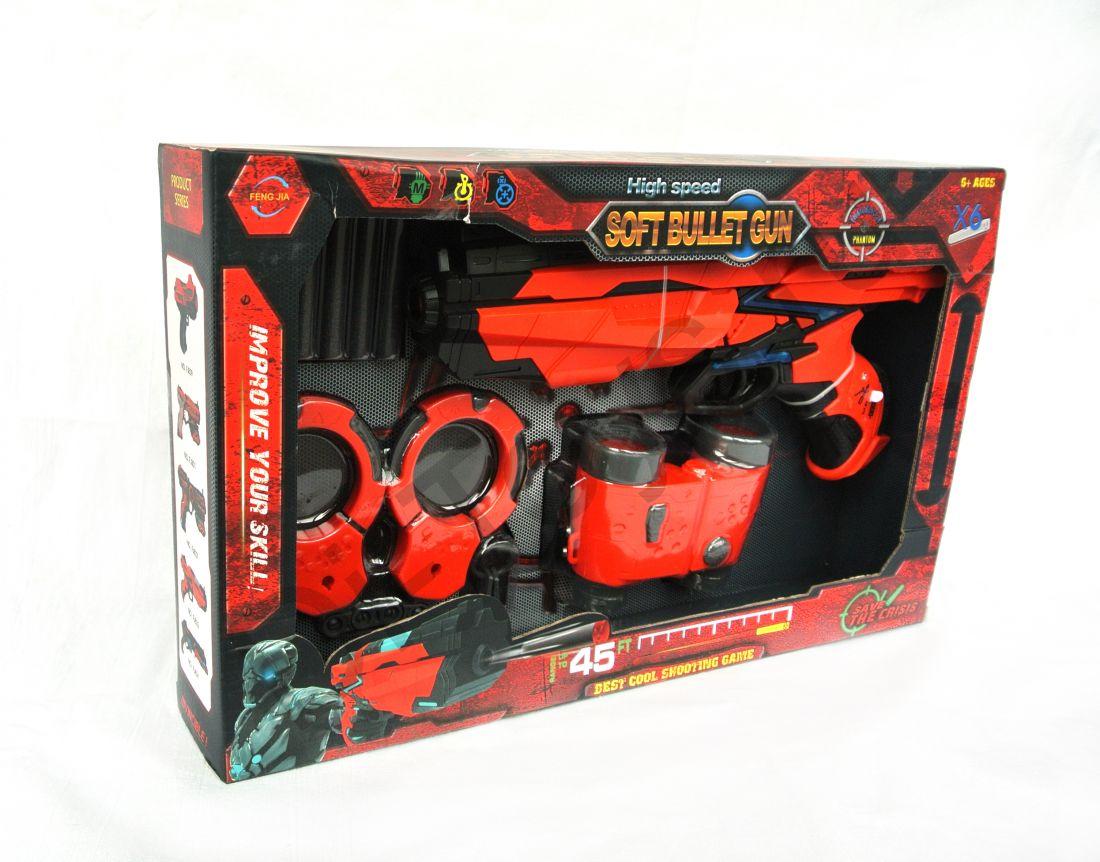 Бластер Soft Bullet Gun
