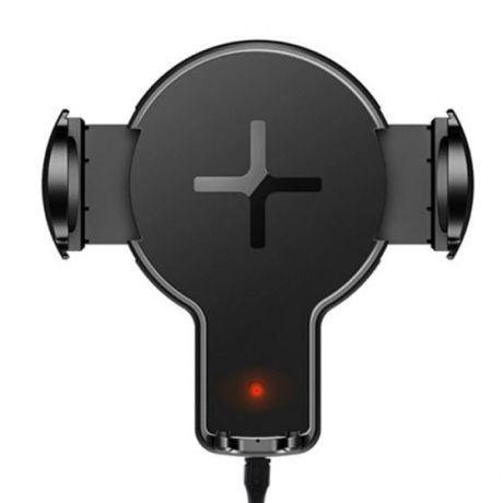 Автомобильный держатель с функцией беспроводной зарядки Rock W2
