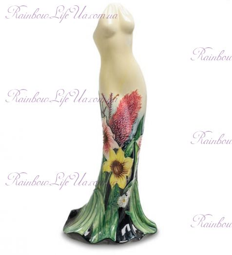 "Ваза дамское платье flower ""Pavone"""