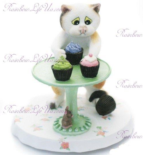 """Статуэтка кот сладкоежка """"Enesco"""""""