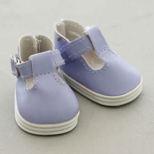 Обувь для кукол - сандалики 5 см (сиреневые)