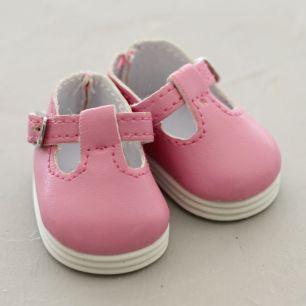 Обувь для кукол - сандалики 5 см (розовые)