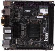 Материнская плата Lga1150 (чипсет Z97, mini-ATX, 2 слота DDR3, USB3.0, Wi-Fi) - MSI Z97I AC