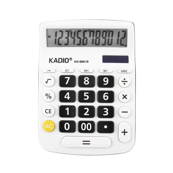 Настольный 12-Разрядный Калькулятор Kadio KD-8881B