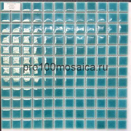 PW2323-11. Мозаика для бассейна и внутр. помещ. серия PORCELAIN, размер, мм: 300*300
