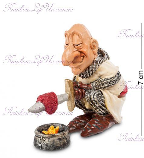 """Фигурка рыцарь на обеде """"W.Stratford"""""""