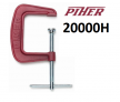 Струбцина винтовая G-образная Piher G 15х12.5см 20000Н арт.20015 М00006391