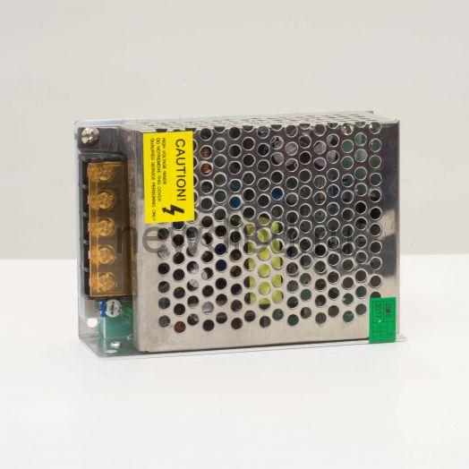 Блок питания интерьерный ELF, 12В, 60Вт, компактный металлический перфорированный корпус - G