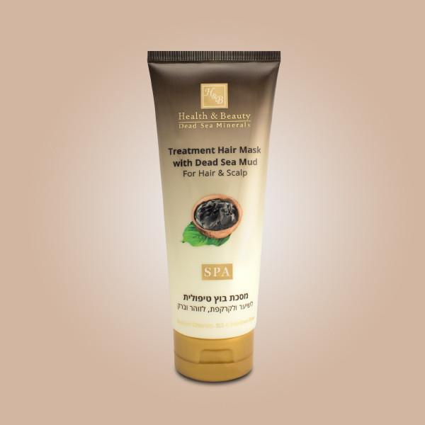 Маска для волос и кожи головы с минералами (грязью) Мертвого моря Health & Beauty (Хелс энд Бьюти) 200 мл