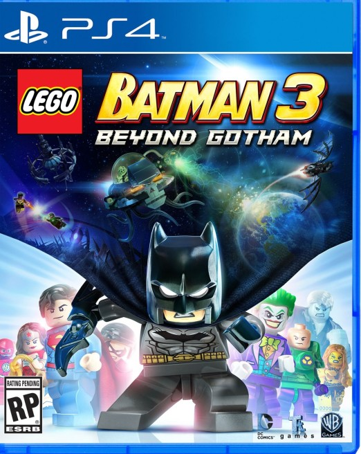LEGO Batman 3: Beyond Gotham Ps4 ( Покидая Готэм )