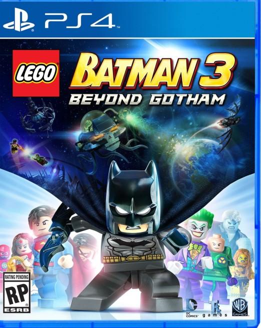 LEGO® Batman 3: Покидая Готэм, ps4