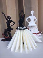 Салфетница фламенко