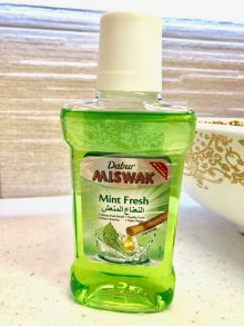 Ополаскиватель полости рта Dabur Miswak Mint Fresh,250 мл