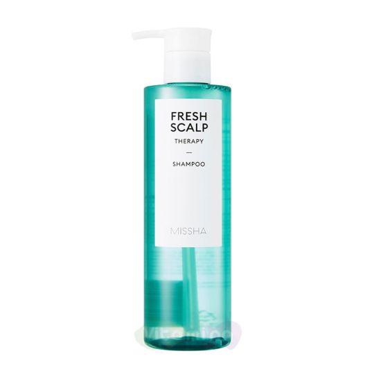 Missha Освежающий шампунь Fresh Scalp Therapy Shampoo, 380 мл