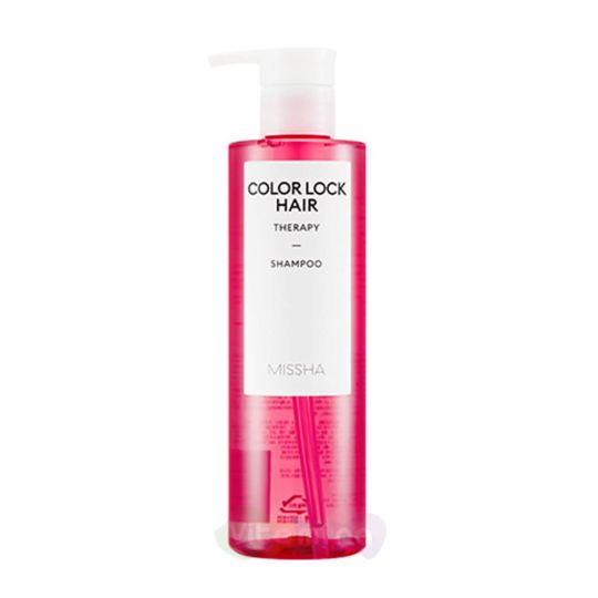 Missha Шампунь для окрашенных волос Color Lock Hair Therapy Shampoo, 400 мл