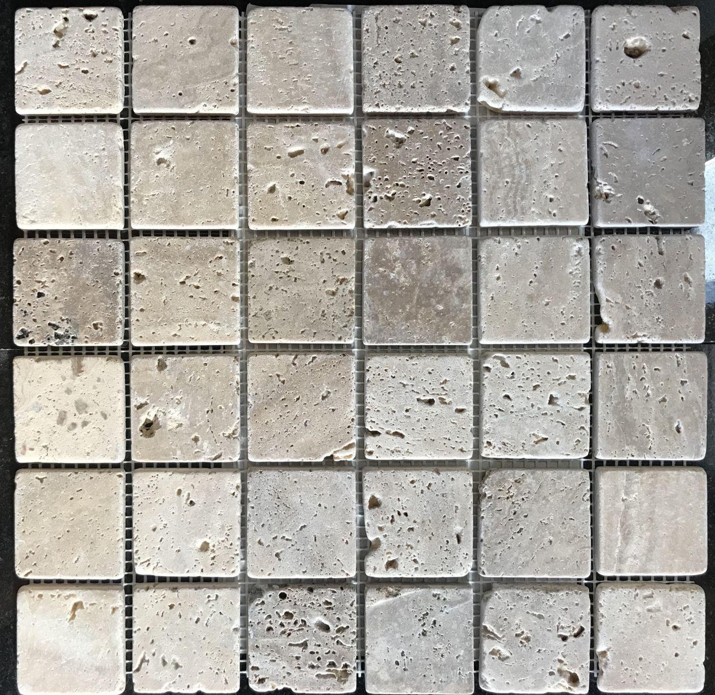 Мозаика из травертина ART. MZ024