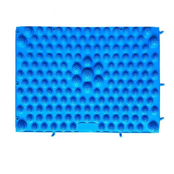 Модульный Коврик-Массажер Для Ног, 37х27 См, Цвет Синий