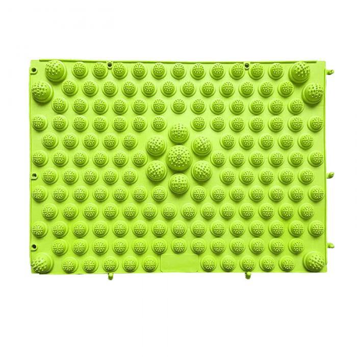 Модульный Коврик-Массажер Для Ног, 37х27 См, Цвет Зеленый