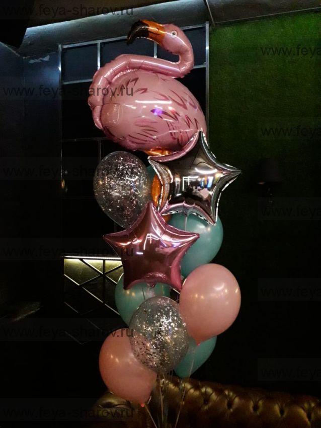 Фонтан шаров Фламинго
