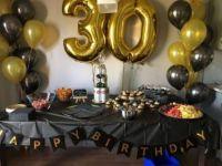 Юбилей с шарами 30 лет