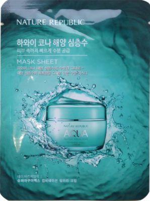 Маска для лица тканевая Nature Republic (SAMPLE) SUPER AQUA MAX COMBINATION WATERY MASK SHEET 20мл