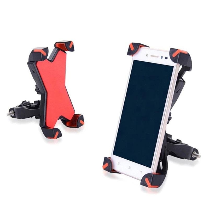 Универсальный Велосипедный Держатель Для Смартфона Phone Holder PH-666, 360°, Цвет Красный