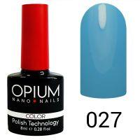 Гель-лак цветной Opium №027, 8 мл